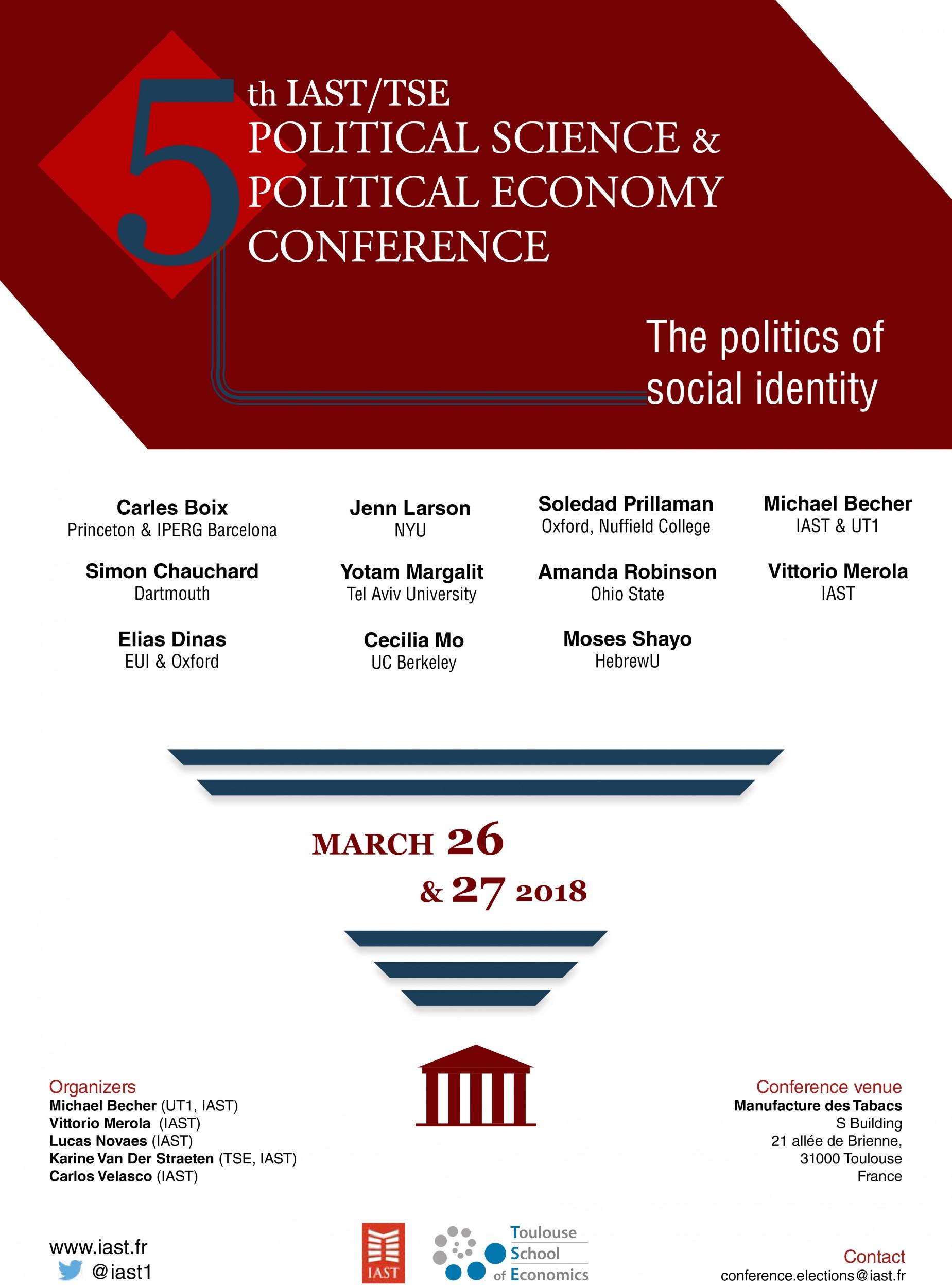 5th IAST Political Economy/Pol...